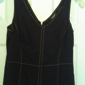 Express Black Dress size 7/8